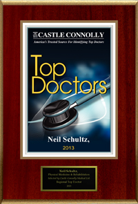 Neil R Schultz, MD is a Castle Connolly Top Doctor for 2013